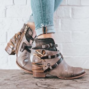 Freebird Crue Grey Multi color bootie